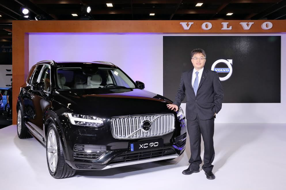 VOLVO XC90 T8 Excellence。 記者林和謙/攝影