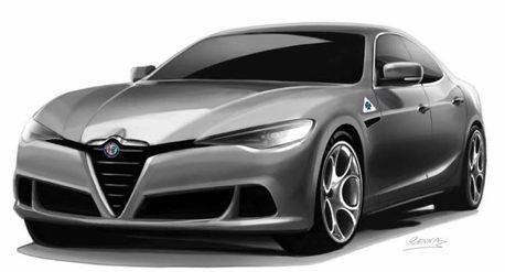 Alfa Romeo計畫推出更大轎跑 目標直指雙B