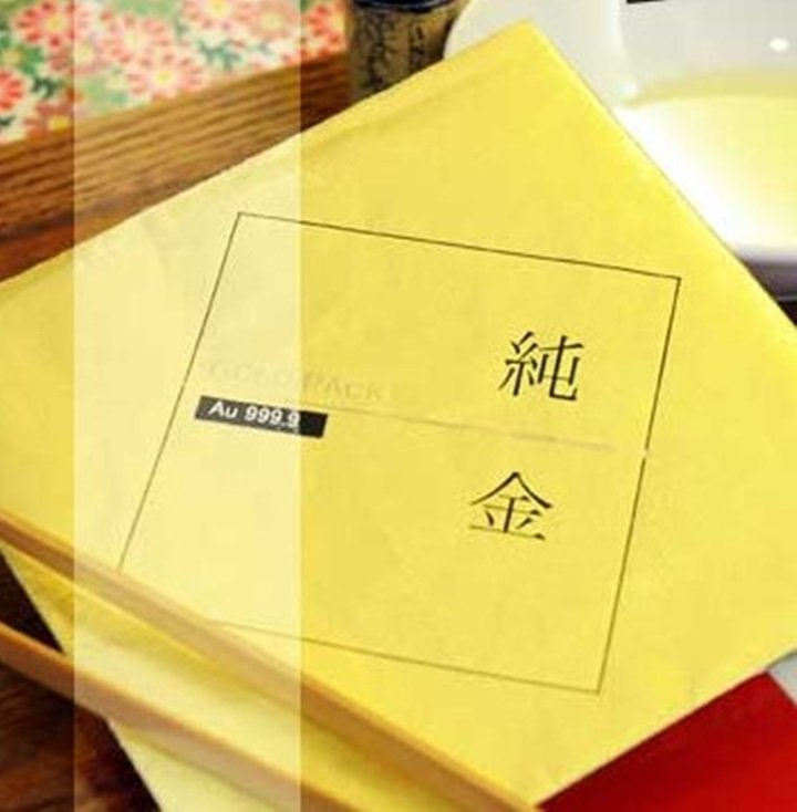 BEING spa運用日本三百年黃金工藝HORIKIN的掘金箔粉推出課程。圖/B...