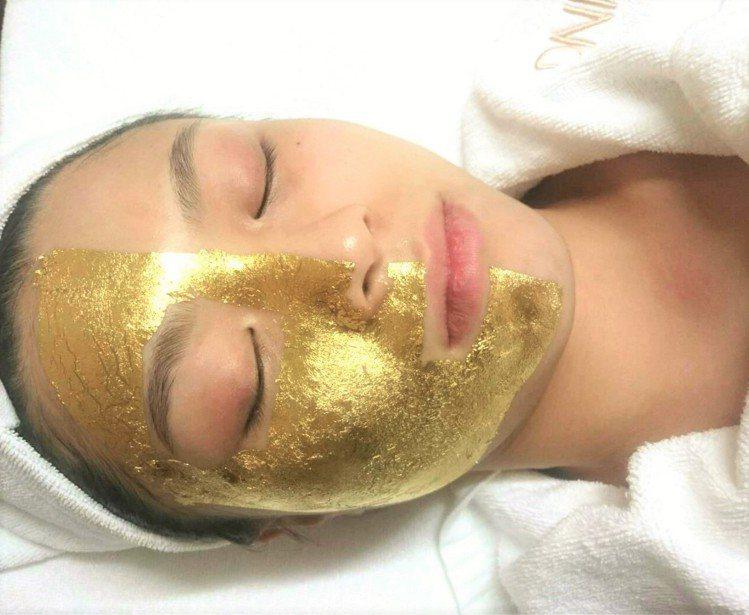 BEING spa推出全新「奢華黃金能量護理」課程。圖/BEING spa提供