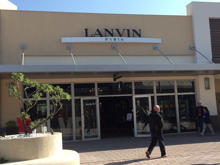 LANVIN也搶搭OUTLET商機。圖/LANVIN提供