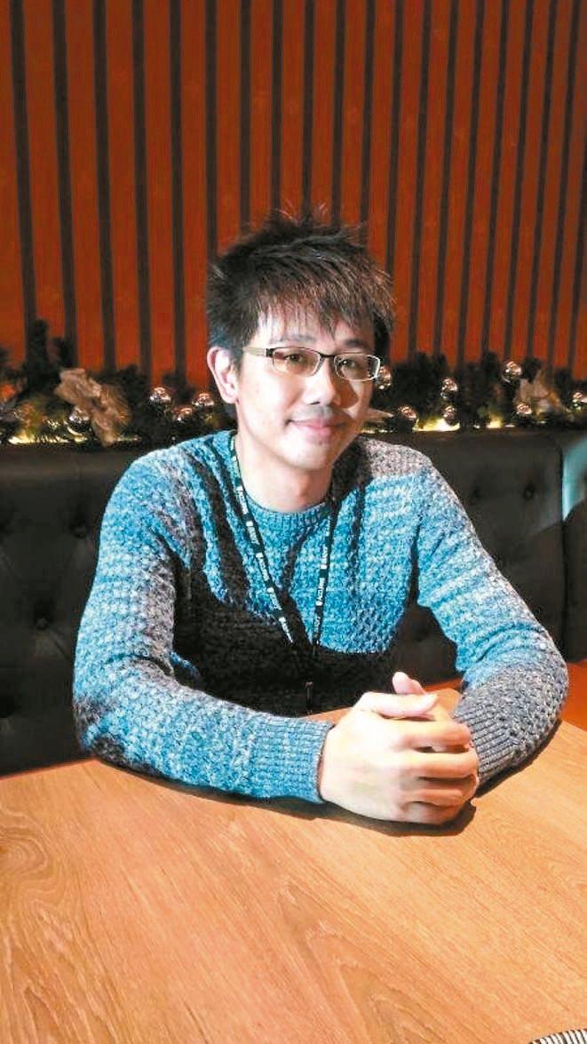 中國大陸最大的活動報名與售票平台「活動行」執行長謝耀輝。 圖,賴錦宏攝影