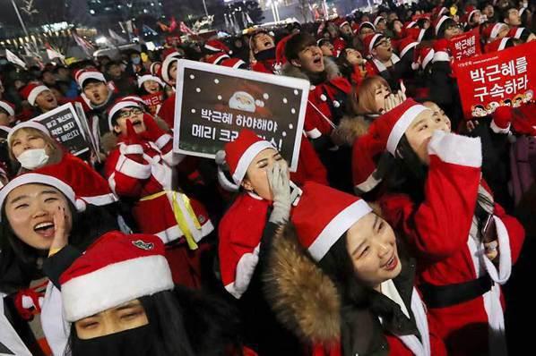南韓今年代表成語…老百姓用這4字送給朴槿惠
