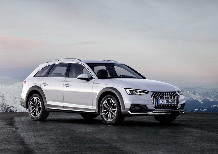 全新Audi A4 allroad quattro車頭改採A4 allroad ...
