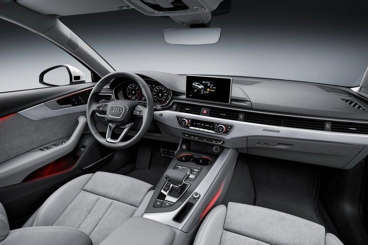 全新Audi A4 allroad quattro擁有舒適寬廣的乘坐空間。 圖/...