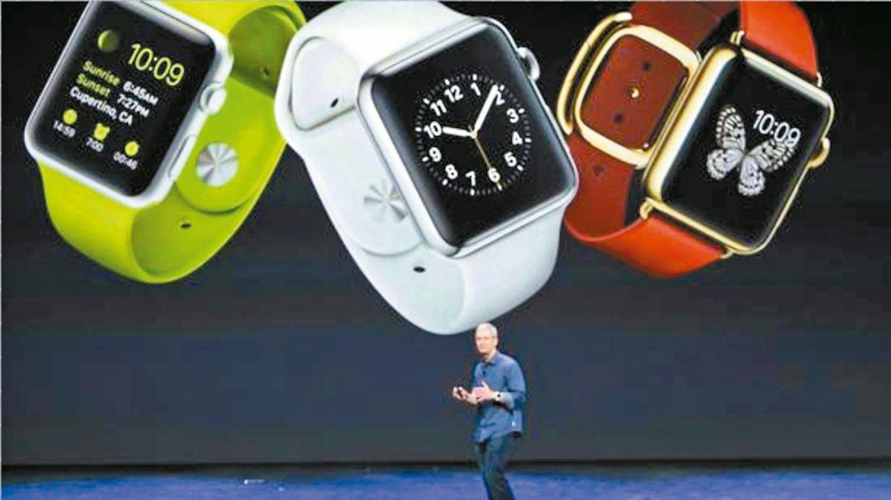 據傳蘋果新一代的Apple Watch將採用Micro LED技術。 網路照片