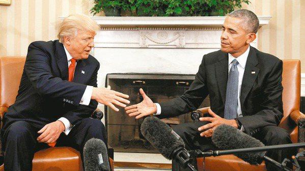 歐巴馬:若我選總統會贏 川普:不可能