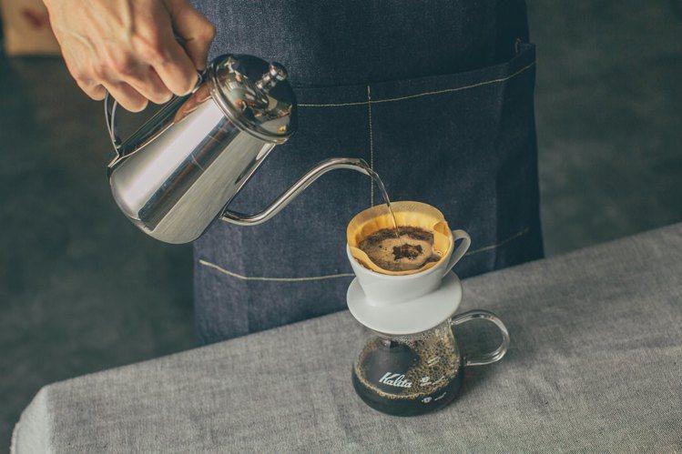 想要也可以嘗試的手沖咖啡體驗。圖/MUJI提供