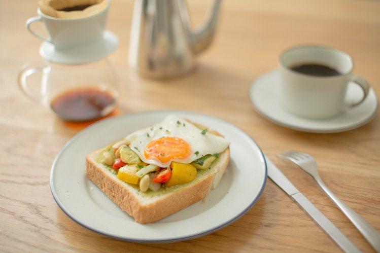 輕食以嚴選食材並加入較多的蔬菜。圖/MUJI提供