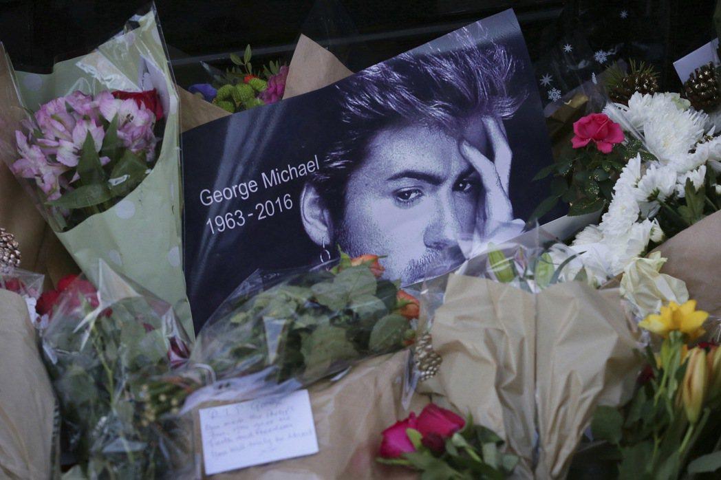 英國流行樂天王喬治麥可在去年耶誕節當天過世,享年53歲。 美聯社
