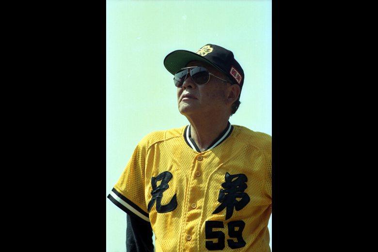 圖為1993-1995任職兄弟象總教練的山根俊英。 圖/聯合報系資料照片