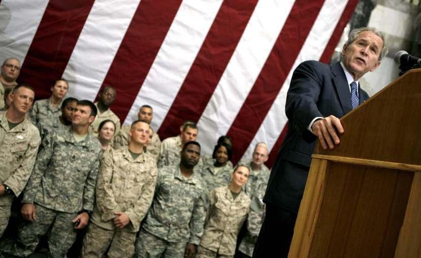 「伊拉克擁有大規模毀滅性武器」這一促使美國開戰伊拉克的理由後來被證實子虛烏有,大...