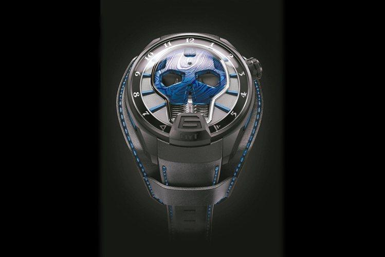 HYT Skull Axl Rose腕表全球限量25只,368萬元。圖/葳鑠提供