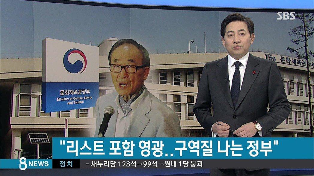 在被SBS記者告知,自己出現在黑名單上後,高銀的第一個反應是:「啊…這樣啊!真是...