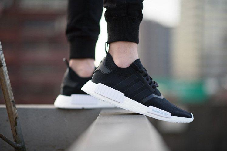 拜NMD潮鞋熱賣所賜,adidas Originals積極在台擴店。圖/adid...