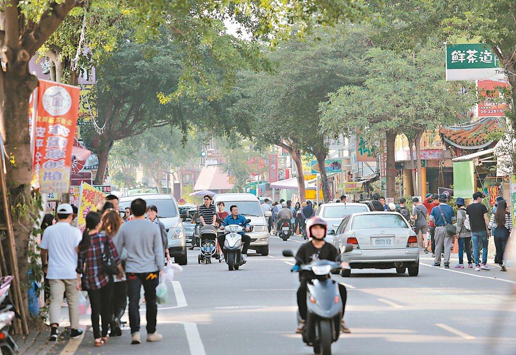 安平區是大台南市政中心,在市府力推觀光下,商機蓬勃。 記者劉學聖/攝影