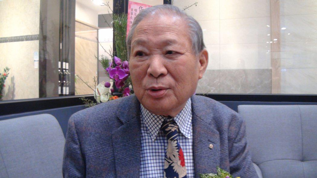 三洋窯業董事長陳福吉。記者王昭月/攝影