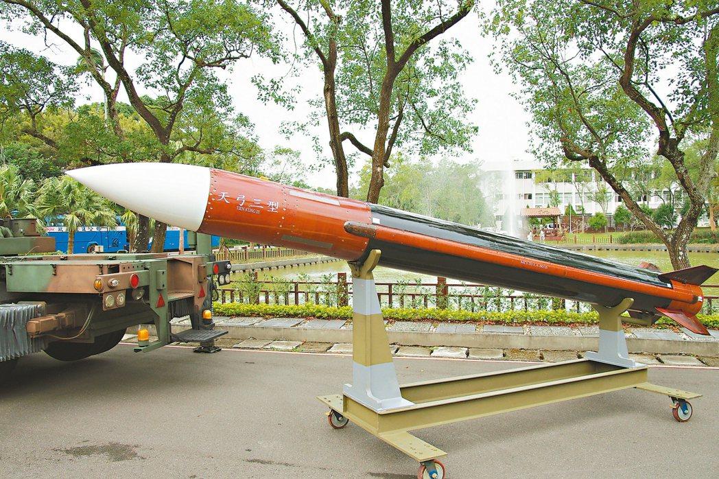 天弓三型飛彈。 記者程嘉文/攝影