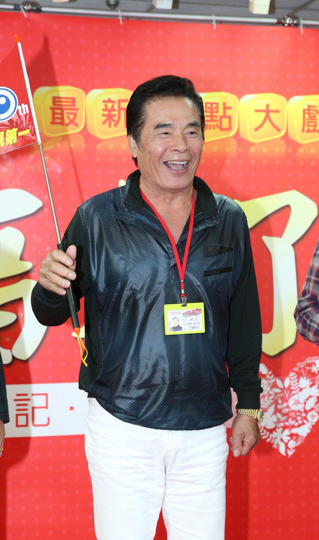 雷洪演出民視新8點「幸福來了」。記者陳瑞源/攝影