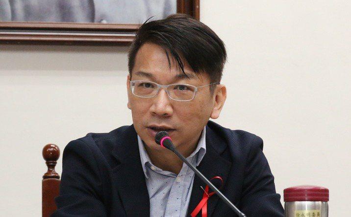 時代力量立院黨團總召徐永明。聯合報系資料照