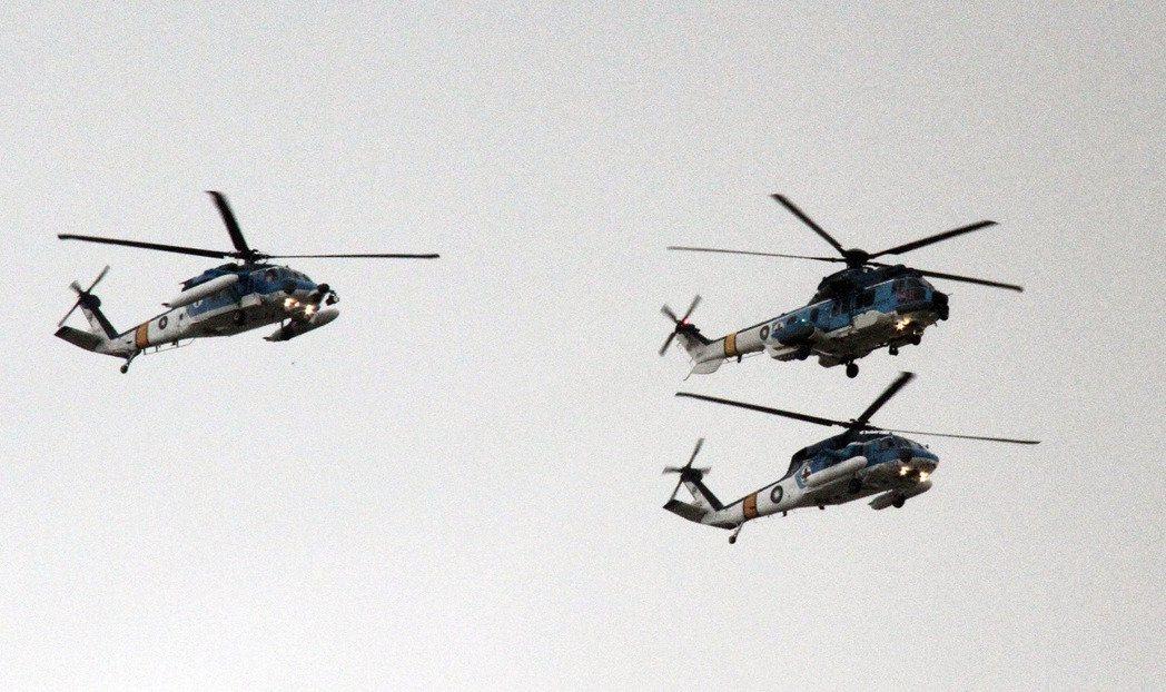海鷗直升機。圖/本報系資料照片