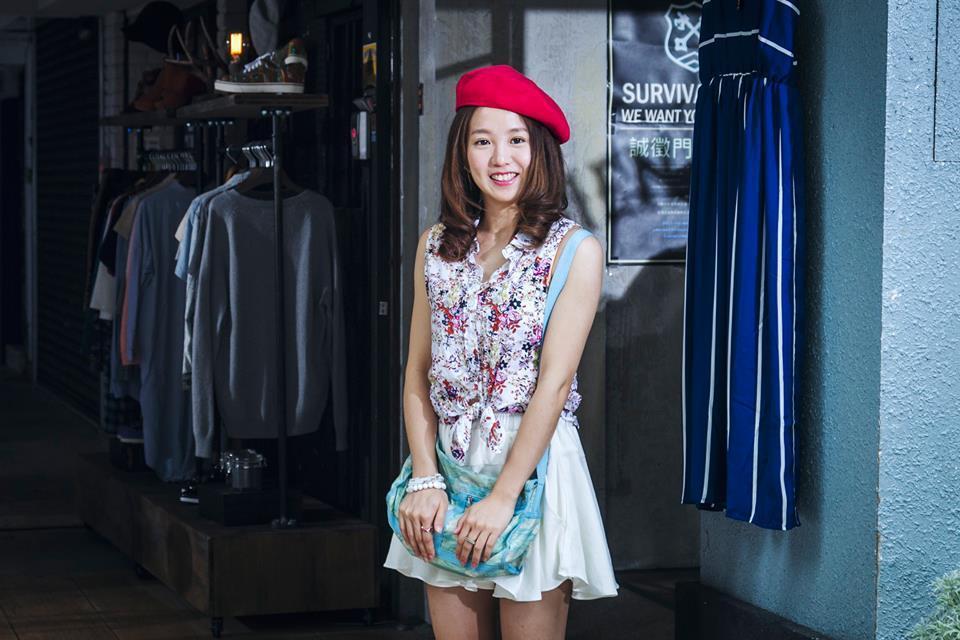 瑤瑤在新片「西城童話」當中飾演一名為愛情而苦的街頭造型師。圖/晴天提供