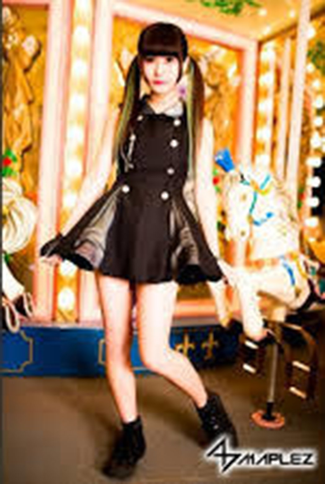 香山紗英是日本偶像女團MAPLEZ成員,目前已宣告引退。圖/摘自日本雅虎