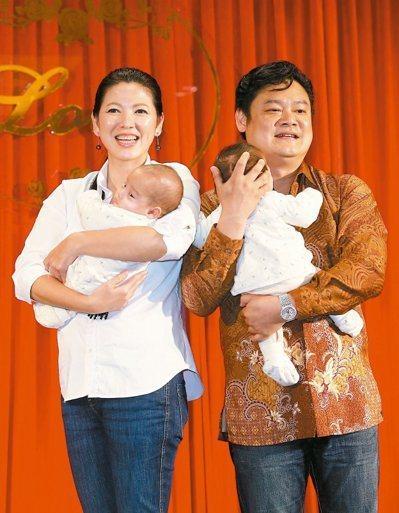 陳明真48歲產下雙胞胎。記者陳瑞源/攝影