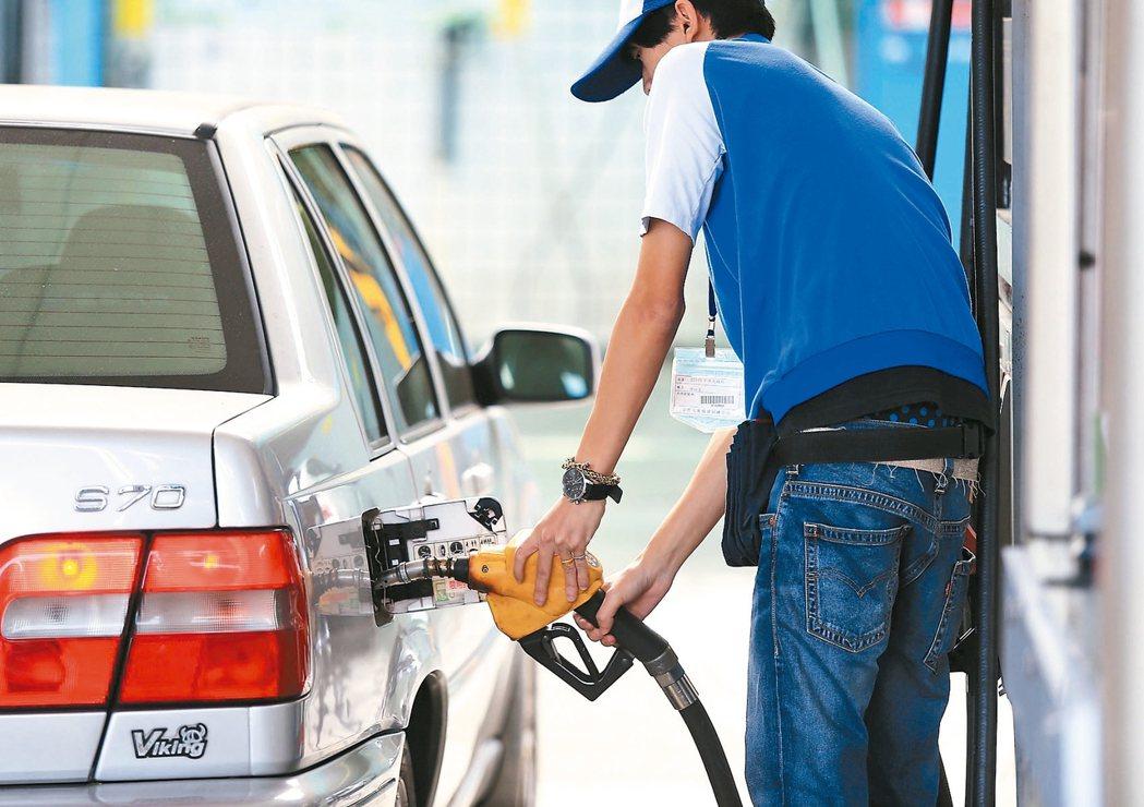 加油站示意圖,非新聞當事人。 報系資料照