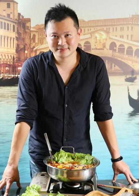 林柏好食創辦人之一陳信助。記者王騰毅攝影