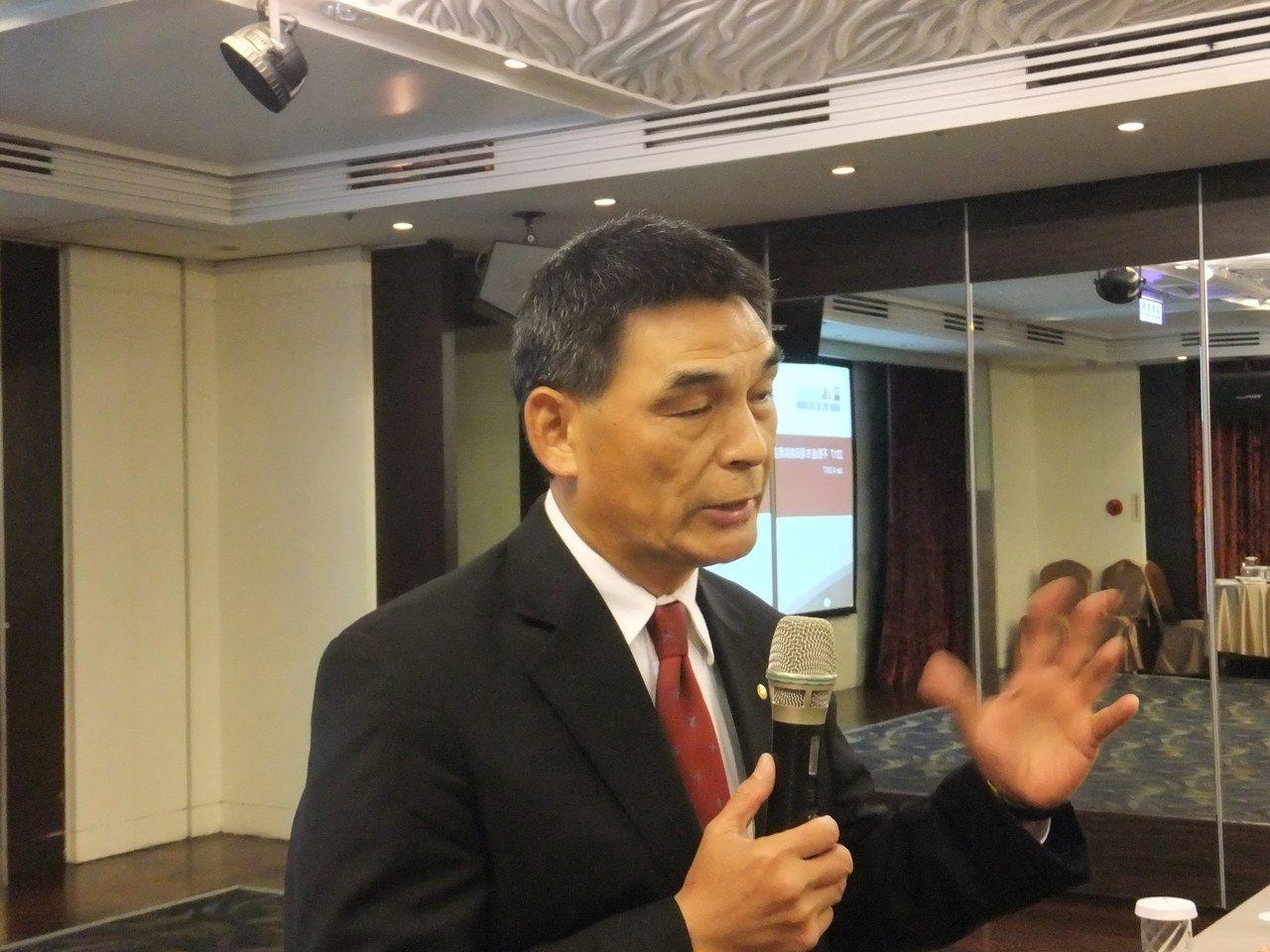 戴德梁行總經理顏炳立。記者游智文/攝影