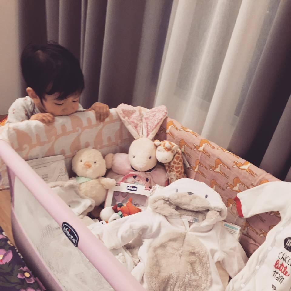 隋棠將迎接女寶寶。圖/摘自臉書