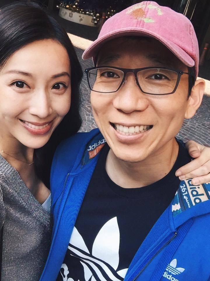 隋棠第二胎將在台灣生產。圖/摘自臉書