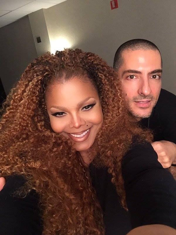 珍娜傑克森與41歲的富商老公威森艾爾瑪那(Wissam Al Mana),透過公...