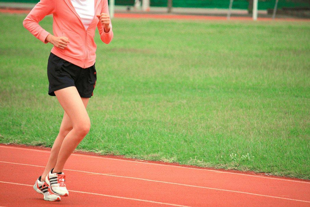 跑步。 報系資料照
