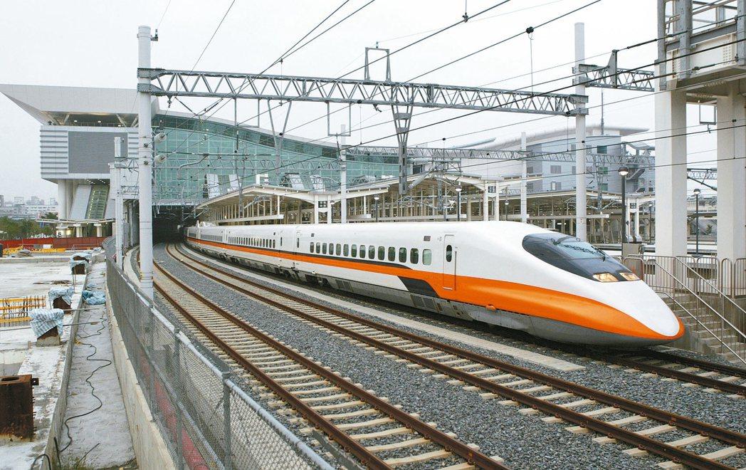 高鐵通車滿十周年。 報系資料照片