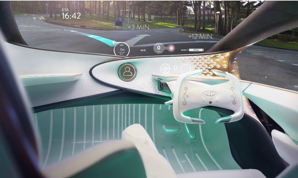 Concept-i 概念車可將重要行車資訊投射於前檔玻璃,避免駕駛分心。 摘自 ...