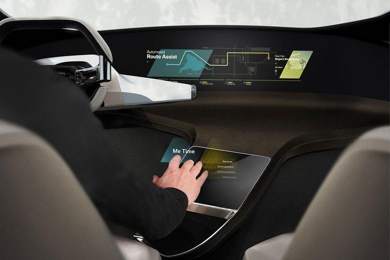 BMW Holo Active Touch虛擬觸控螢幕技術。 BMW提供