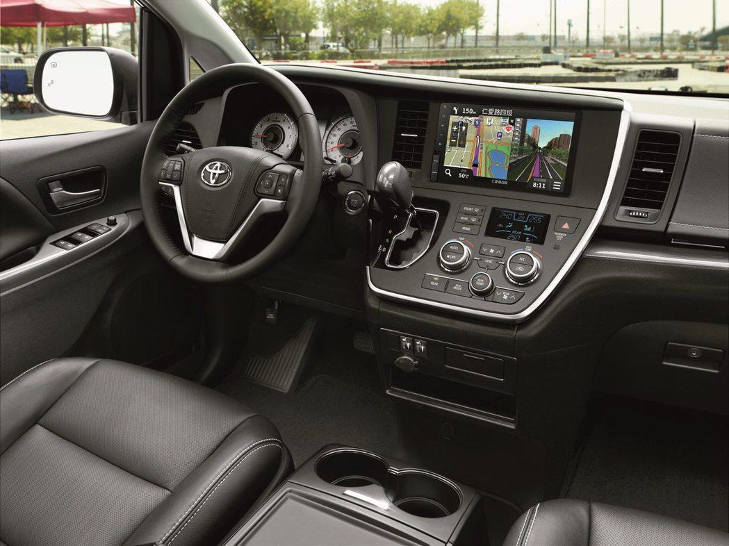SIENNA創造舒適愉悅的乘車體驗 圖/和泰汽車提供