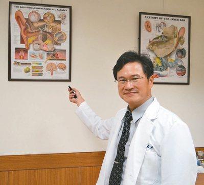 員生醫院耳鼻喉科醫師周大元。 記者何炯榮/攝影