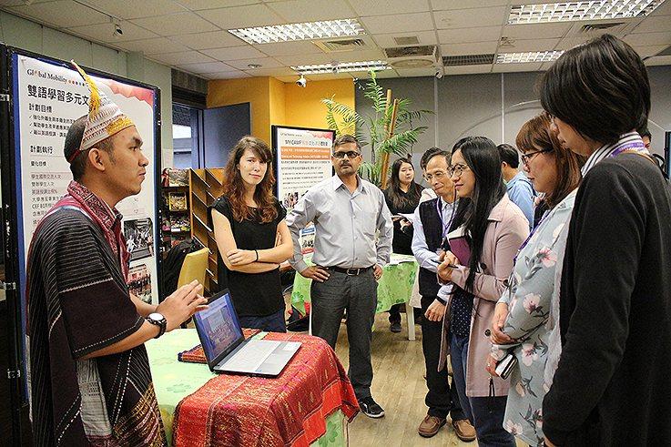 元智大學外籍生海外移動力分享。 元智大學/提供
