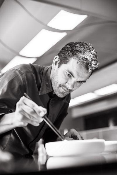 Le Charlemagne餐廳主廚勞倫特‧普久 Laurent Peugeot...