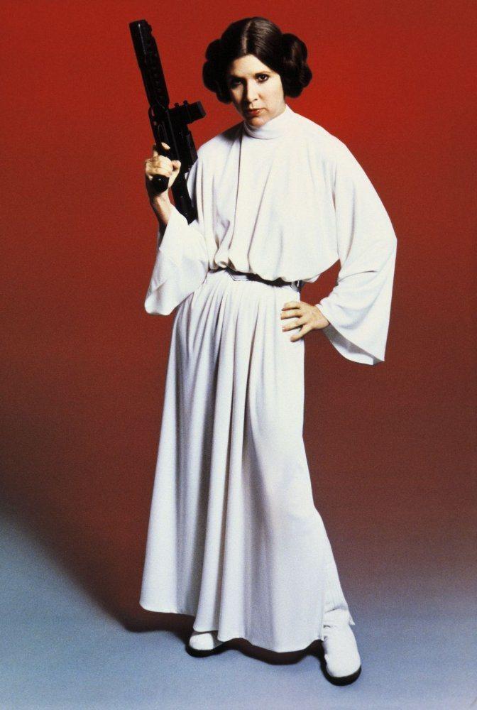 嘉莉費雪飾演的莉亞公主在後續「星戰」影片如何退場,受到關注。圖/摘自imdb