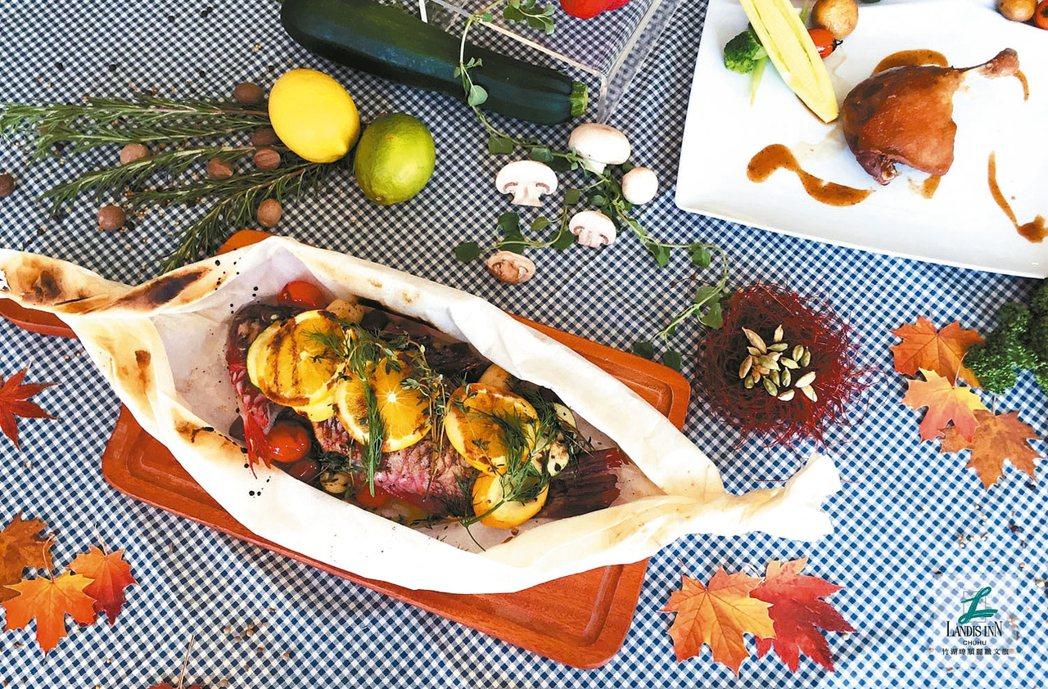 紙包季節現流海魚。 圖/業者提供