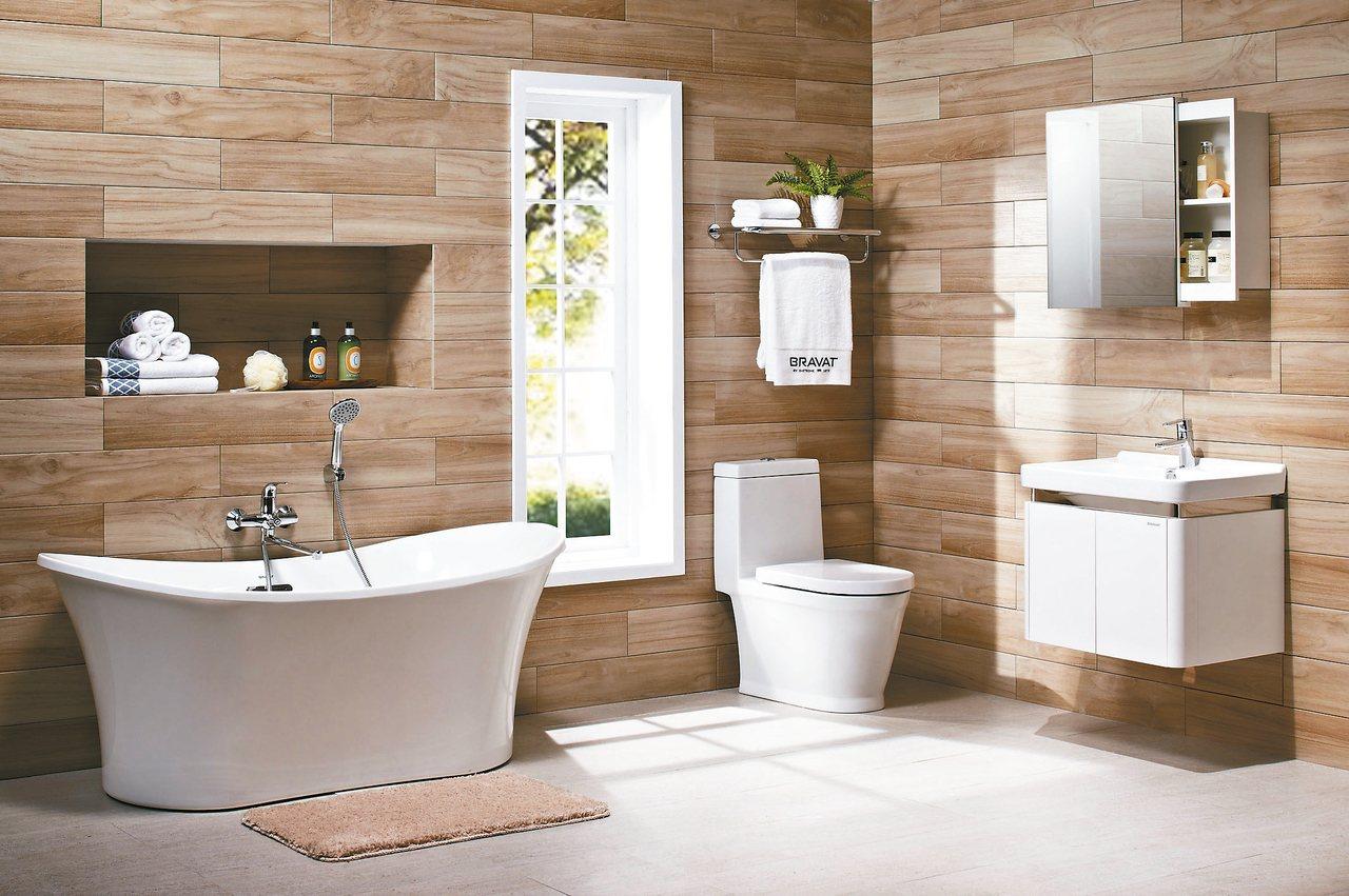 衛浴設施因管線配置的限制,裝置後難以隨意更動,因此整修時須完整考量動線。 圖/特...