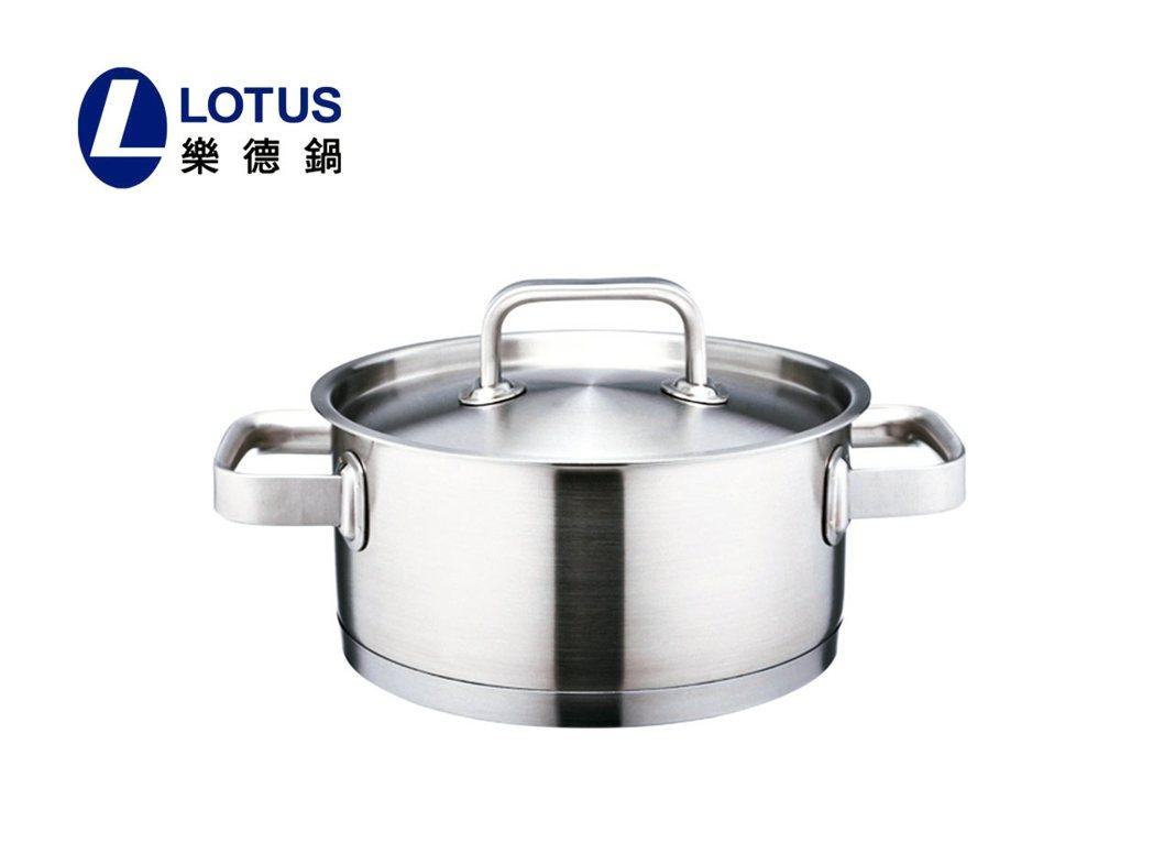 LOTUS新頂級鍋。 圖/旺代企業提供