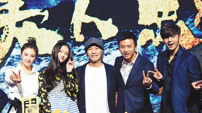 和和影業投資發行的《美人魚》,成為大陸歷史上票房最高的電影。 新華社資料照