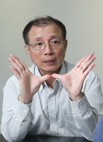 新竹物流副營運長李正義。記者蘇健忠/攝影
