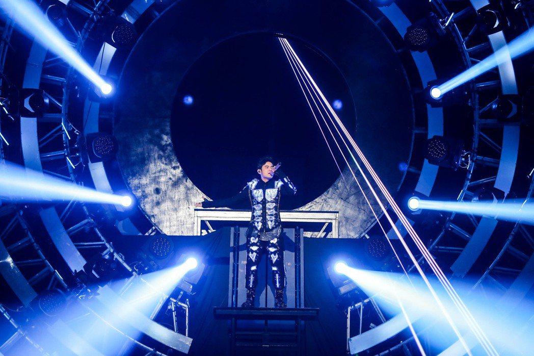 周杰?的「地表最?」巡演2017年首站登上香港。?/杰威?提供