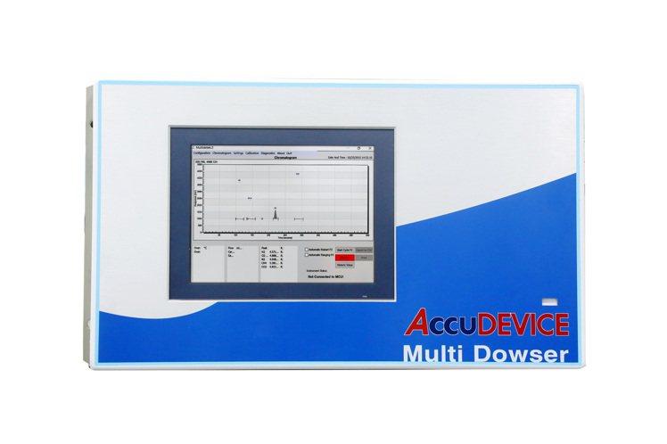 寶磯系統研發的氣相層析儀。 寶磯系統/提供